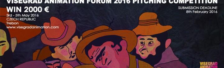 Prihláste svoje projekty na VISEGRAD ANIMATION FORUM 2016 PITCHING COMPETITION