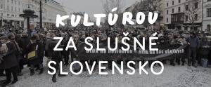 KULTUROU ZA SLUSNE SLOVENSKO FB COVER