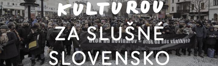 APAF sa pripojilo k výzve kultúrnych centier za slušné Slovensko